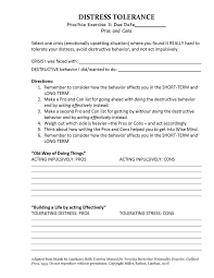 Dbt Skills Manual Worksheets Worksheets for all   Download and ...