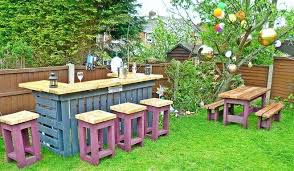 wooden pallets furniture ideas. Pallet Ideas For Gardening Furniture Garden Bar Stools Wood Wooden Pallets