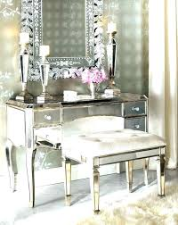 Vanity Table With Lighted Mirror White Vanity Table With Lights Desk ...