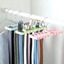 organizer storage rack tie belt space saver tops rotating hanger holder revolving closet closet revolving organizer