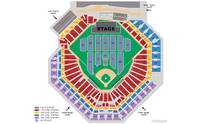 Phillies Field Seating Chart Citizens Bank Park Seating