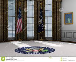 President Presidential Oval Office White House Illustration All