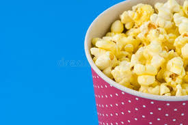 Popcorn in a pack stock image. Image of bucket, corn - 116797571