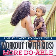 7 Must-Haves to Make Your Workout (with Kids) More Do-Able - Daily Mom