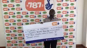 787 Lottery winner interview ...