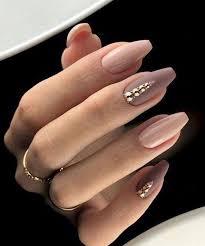 Nude Nails And Glitter Líčeňí Nehty Matné Nechty Svadobné
