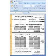 Reconciliation Template Use A Microsoft Excel Reconciliation Template To Help Your