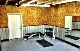 garage wall covering ideas corrugated garage wall covering interior ideas metal ceiling for walls the home