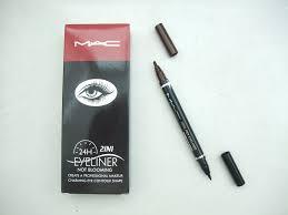 mac 24 hours eyeliner not blooming
