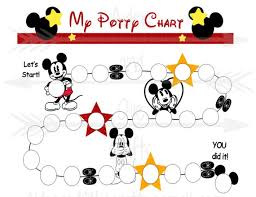 Free Printable Mickey Mouse Potty Training Chart Mickey Mouse Potty Training Reward Chart Printable Pdf Potty Training Guide Reward Charts For Kids My Potty Chart Reward Printable