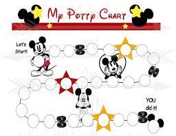 Mickey Mouse Potty Training Reward Chart Printable Pdf Potty Training Guide Reward Charts For Kids My Potty Chart Reward Printable