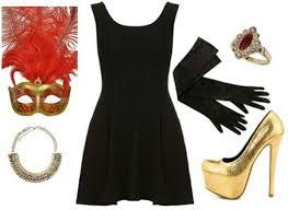 masquerade costume black dress costume ideas