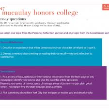 admissions requirements macaulay honors college thumbnail for the 2017 essay questions pdf