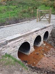 Bridge Over Culvert Pipe Culverts Pinterest Pipes Bridge - Exterior drain pipe