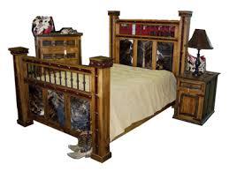 RUSTIC BEDROOM FURNITURE WESTERN BEDROOM FURNITURE RUSTIC BEDS