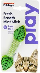 """<b>Petstages игрушка для кошек</b> Dental """"Мятный листик"""" 11 см"""