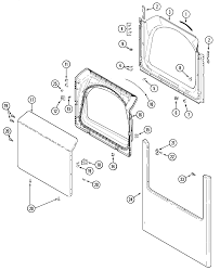 tag model mde7057ayw residential dryer genuine parts