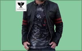 raven genuine leather jacket bag wallet and belt in dhaka desh