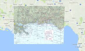 New Orleans Sectional Chart New Orleans 1 500k Faa Rocketroute