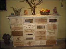 Unique Wine Crate Table Decor