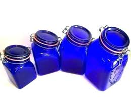 kitchen canister set blue purple canister set blue glass canister set purple kitchen canister glass kitchen kitchen canister set blue