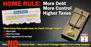 south chicago heights voters confronted with home rule ballot initiative