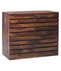 ethnic handicraft mango wood bar unit
