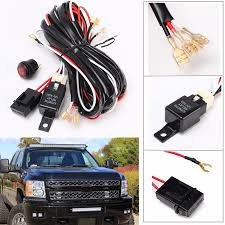 14v 40a 300w cable lines offroad led driving light bar extention 14v 40a 300w cable lines offroad led driving light bar extention wire relay fog lamp wiring loom harness kit fuse power off 4x4 walmart com
