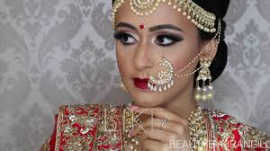 traditional indian bollywood south asian bridal makeup start to finish beauty by kiran gill