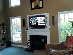 tv above gas fireplace ideas above fireplace where to put cable box above fireplace where to tv above gas fireplace ideas