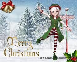 Christmas elf wallpaper ...