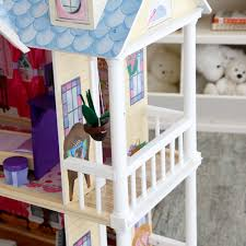 dollhouse lighting. KidKraft My Dreamy Toy Dollhouse With Lights And Sounds - 65823 | Hayneedle Lighting