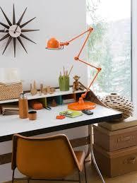 orange home office. orange desk lamp home office decor