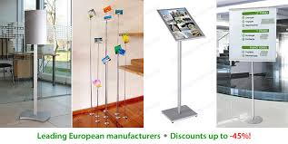Portable Poster Display Stands