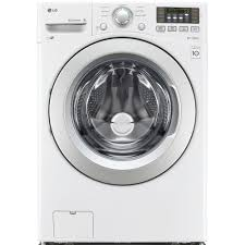 High Efficiency Clothes Washers Lg Electronics 45 Cu Ft High Efficiency Front Load Washer In