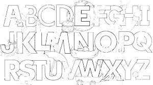 Printable Abc Coloring Pages Free Printable Alphabet Coloring Pages