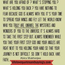 What Are You Afraid Of.. - Love Quotes And Sayings via Relatably.com