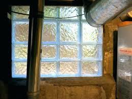glass block window install installing glass block window installing glass block basement windows glass block