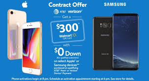 walmart s black friday 2017 deals gift a 300 card with an iphone x or note 8