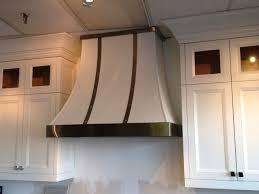 custom range hoods. Contemporary Custom White And Brushed Stainless Steel Range Hood Inside Custom Range Hoods A