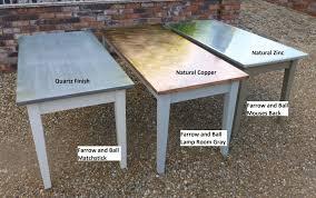 Copper Top Kitchen Table Similiar Make A Zinc Top Table Keywords