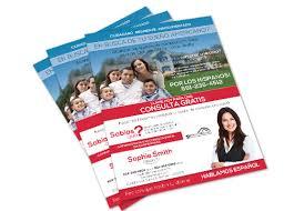 realtor flyers templates real estate spanish flyer templates realtor spanish flyer templates