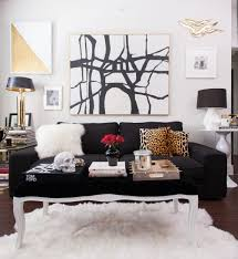 Black White Gold Bedroom Get The Look My Apartment Style Joss Main The Decorista