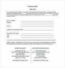 bid proposal forms bid proposal template pdf beautiful bid proposal template contractor