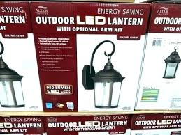 costco outdoor lights led light fixtures color changing