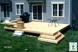 build a low deck on the ground designs to best level plans multi design free deck plan medium low single level plans