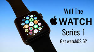 Will The Apple Watch Series 1 Get watchOS 6? - YouTube