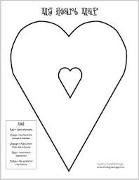 write on, fourth grade! heart map to get ideas flowing for Heart Map For Writers Workshop heart map to get ideas flowing for writing Writing Heart Map Printable