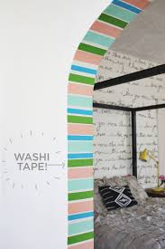 Washi Tape Kitchen Cabinets How To Style Up Your Home 50 Washi Tape Ideas