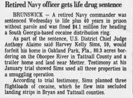 Harvey Kelley Sims sentenced for operating cocaine enterprise -  Newspapers.com
